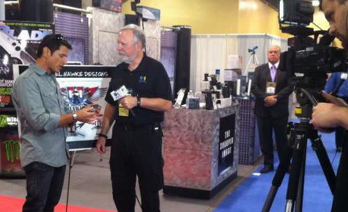 Mykel Hawke Interviewed at the SHOT Show