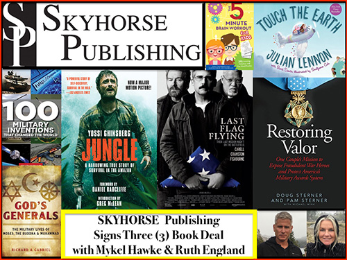 Mykel Hawke Skyhorse Book Deal